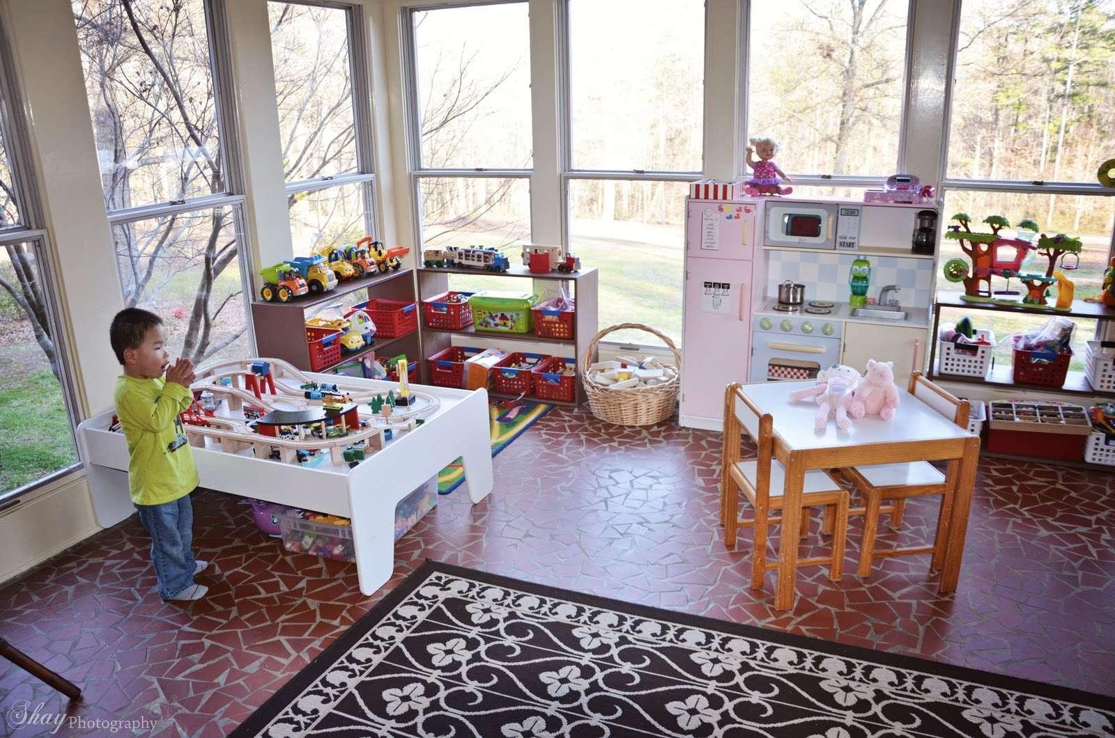 Sunroom Playroom