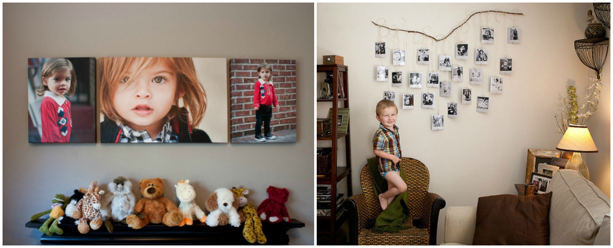 How to Design a Family Photo Wall