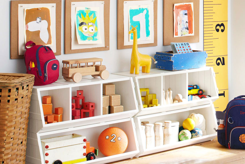 Stunning Effect Amazing Shelving Ideas for Kids' Room