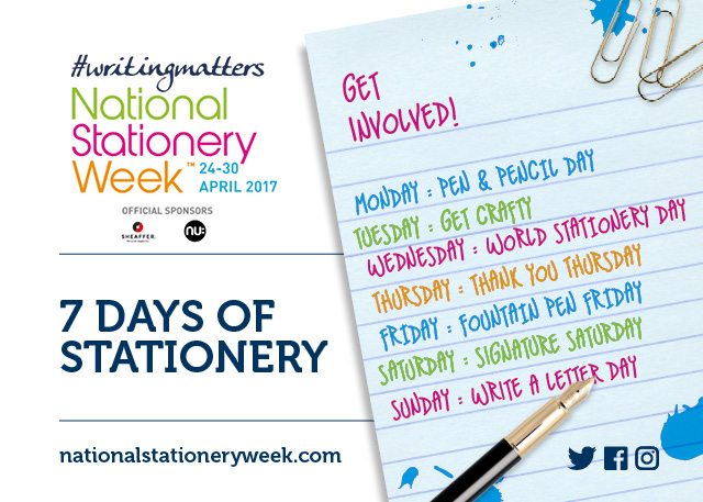 National Stationery Week - Seven Days of Stationery