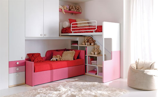 Maximum Space For Growing Kids - Bunk beds