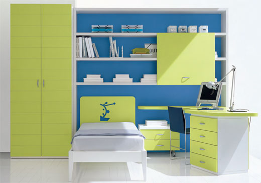Maximum Space For Growing Kids - Use your wall space