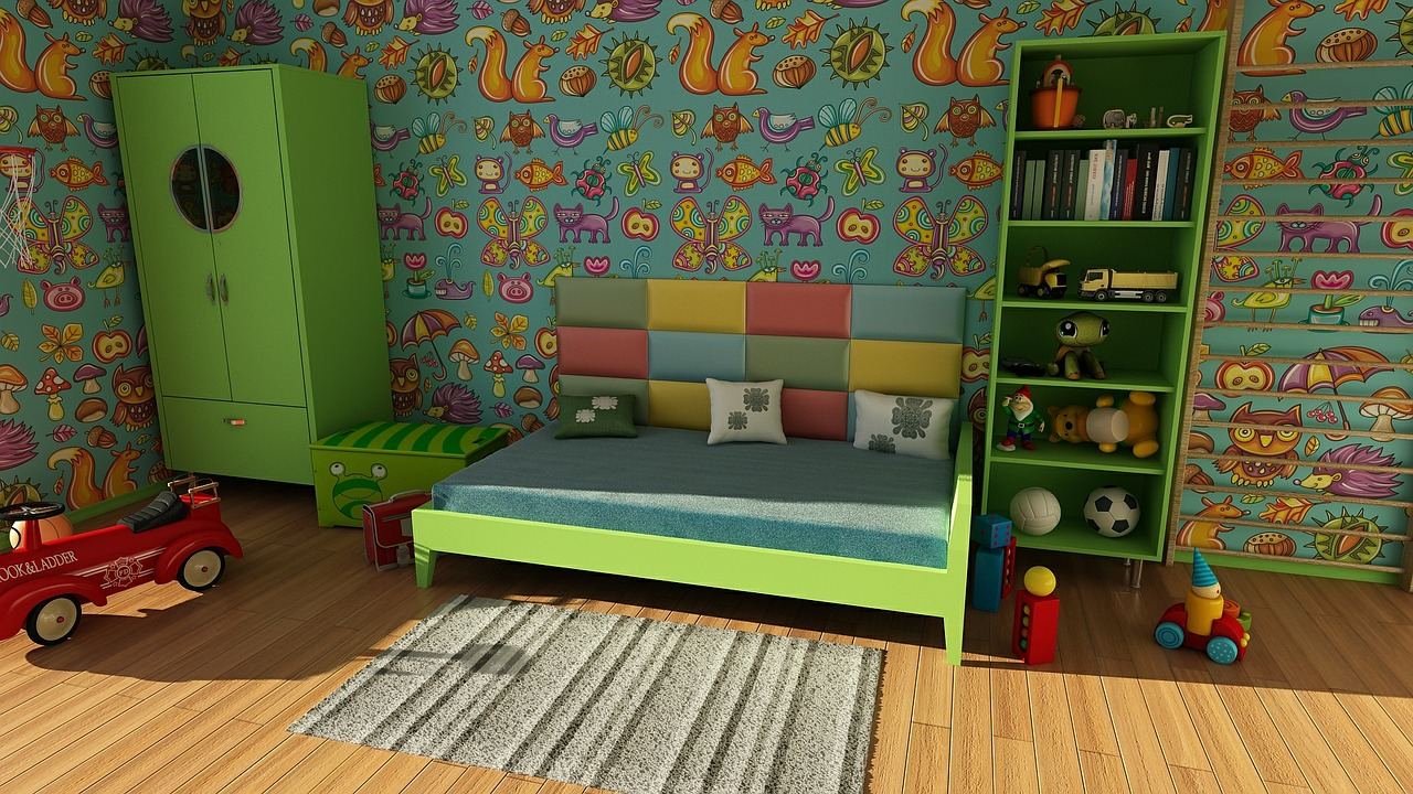 How To Create a Practical Children's Room