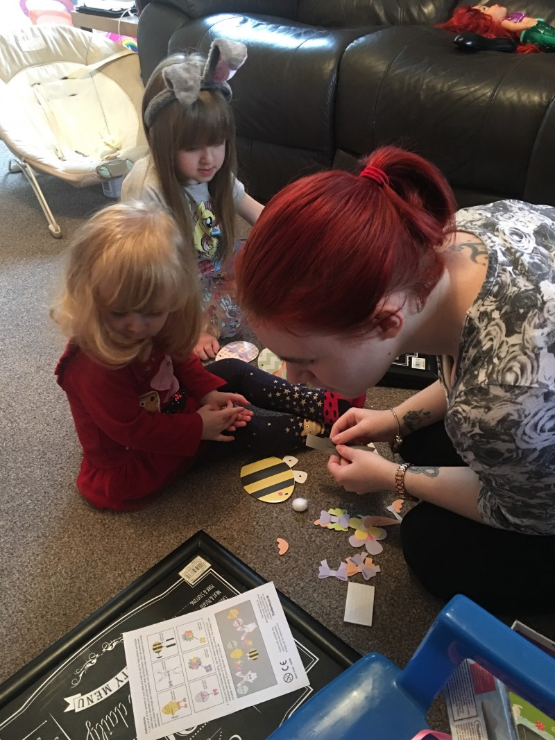 Easter Crafts - Making Bunting