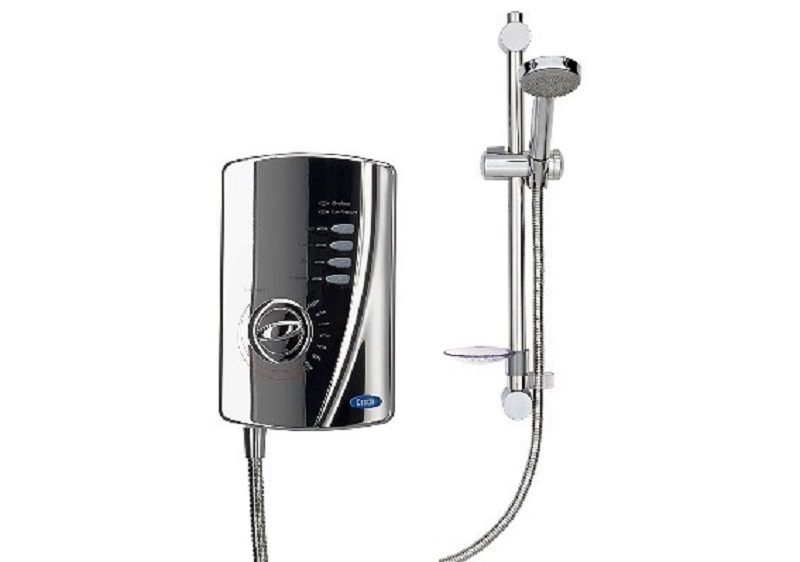 Chrome Electric Shower